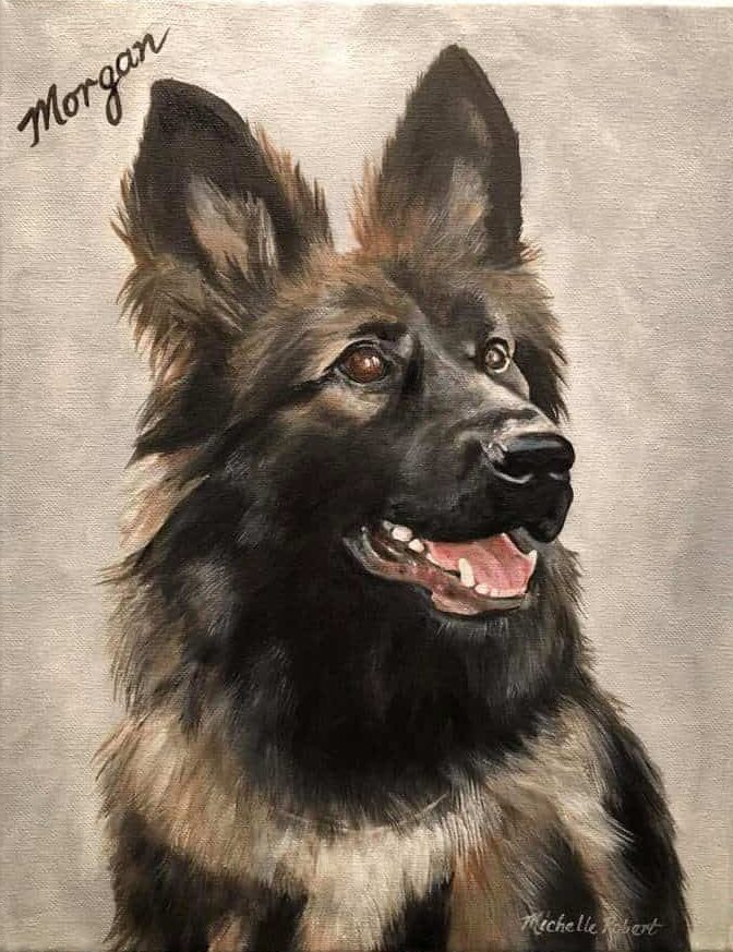 Michelle Lynn Designs pet portraits…
